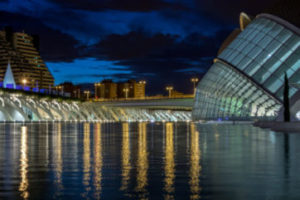 La Cité des Arts et des Sciences à valencia en Espagne