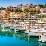 Port Soller de plaisance à Majorque - îles Balèares