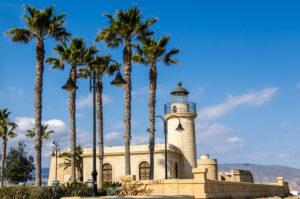 Roquetas de Mar sur la Costa Almería en Andalousie