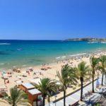 Salou ville côtière de la Costa Dorada en Espagne