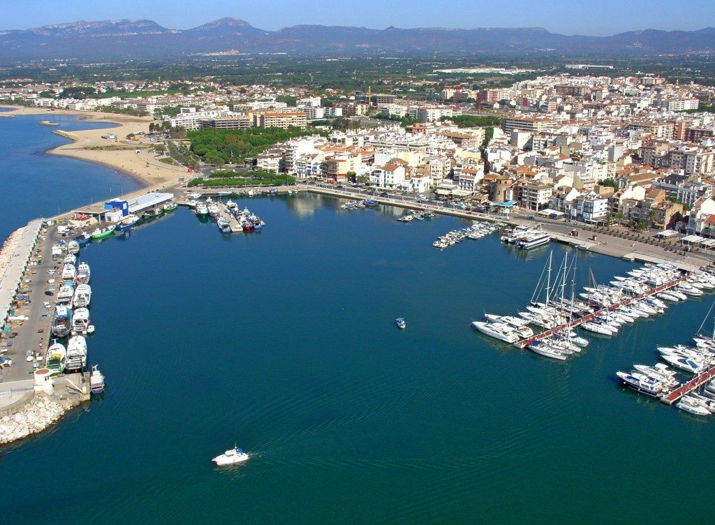 Ville de Cambrils au bord de la méditerranée - Costa Dorada