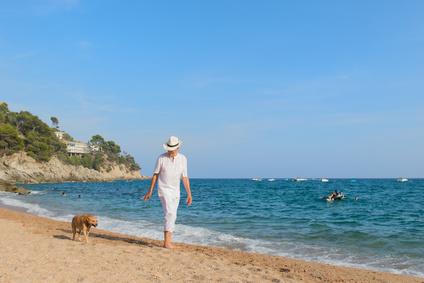 Vivre en Espagne - Promenade bord de mer