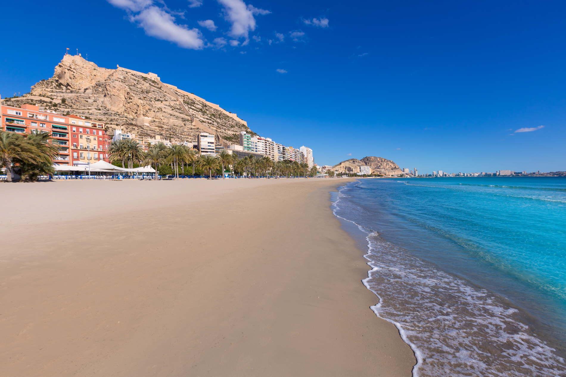 Vivre au bord de la plage Alicante