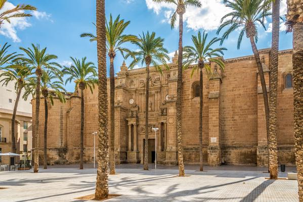 Cathédrale Almeria en Andalousie Espagne