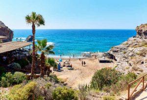 plage sur la Costa Calida en Espagne