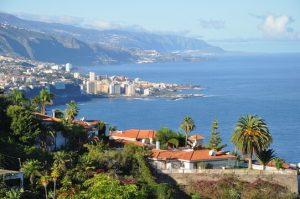 Puerto de la Cruz à Tenerife dans les îles Canaries