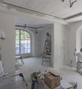 Travaux de renovation bien immobilier Espagne