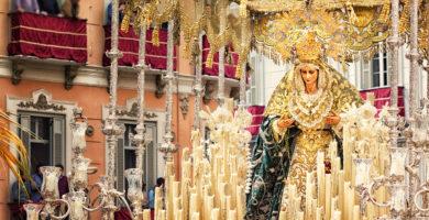 Semaine Sainte à Malaga en Andalousie