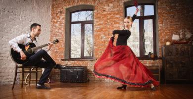 Flamenco. danse et chant tradition Espagne