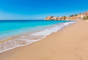 Plage en Espagne sur la Costa Calida