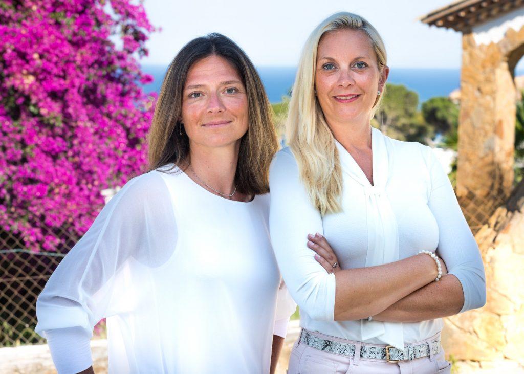 L'équipe de chasseurs immobiliers francophones en Espagne, Séverine Weiss et Valérie Henrivaux